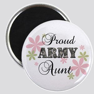 Army Aunt [fl camo] Magnet